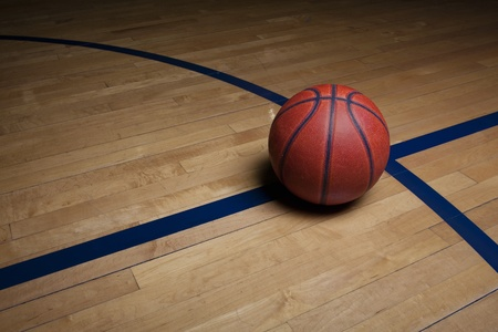Basketball Court Background Stock Photo - 9621322