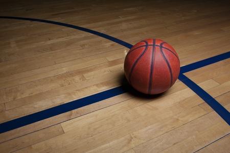basketball hoop: Basketball Court Background Stock Photo