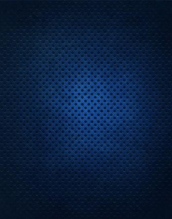 vignette: Fond de grille m�tallique bleu Banque d'images