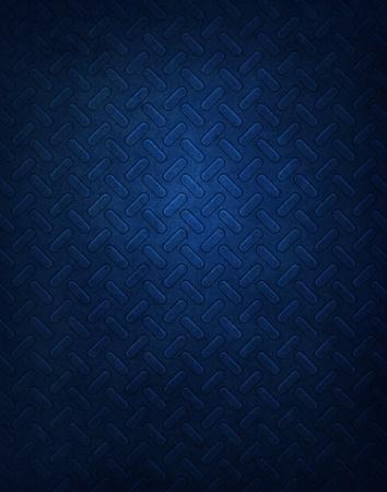 Blauwe metalen patroon achtergrond