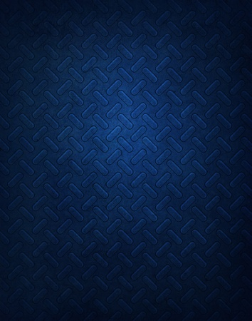 Blue Metal Pattern Background Stock Photo - 9621325