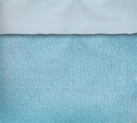 Vintage Blue paper background photo