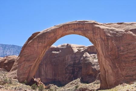 Rainbow Bridge Natural Arch, Lake Powell, Arizona photo