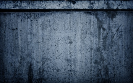 chiseled: Dark Blue Cement Grunge Background Stock Photo