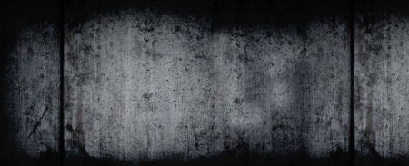 eroded: Extra Large Dark Grunge Horizontal Background