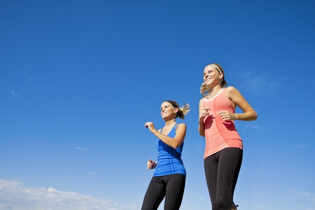 Healthy Female Joggers photo