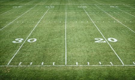 campo di calcio: Football americano campo orizzontale Archivio Fotografico