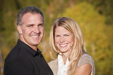 40 something: Beautiful Middle-aged Couple Portrait