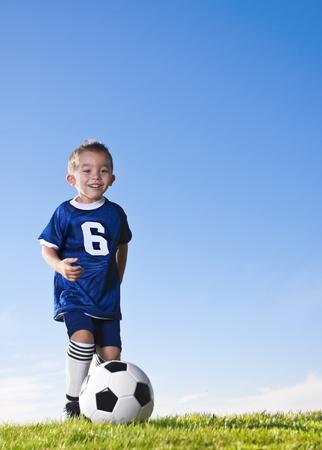 Hispanic Youth Soccer Player photo