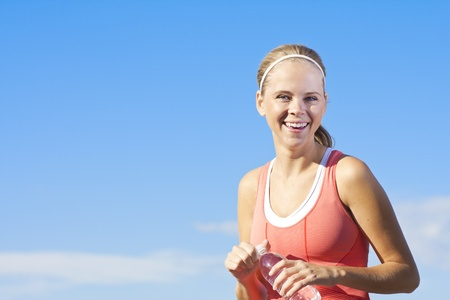 Happy, Healthy and Fit woman photo