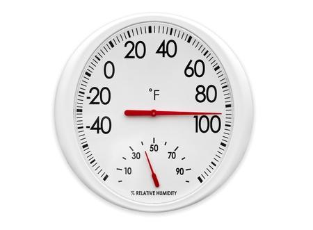 옥외 온도계  습도계