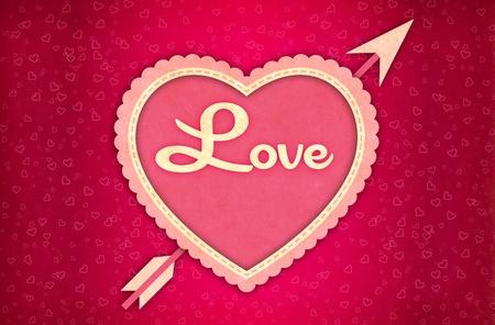 Valentine Card Background photo