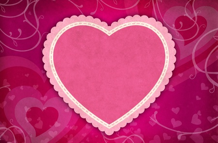 Valentine Heart Background photo