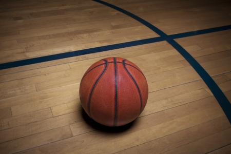 background basketball court: Basketball on the court