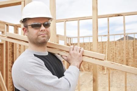 Construction Worker on the Job Reklamní fotografie