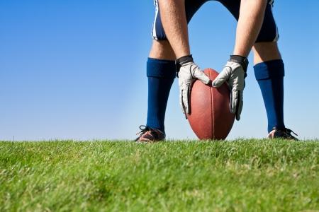 Voorbereidingen voor voetbal Kickoff
