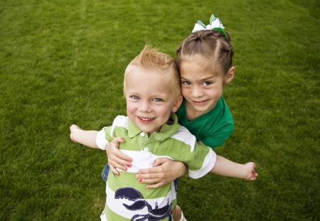 Happy, Playful Children photo