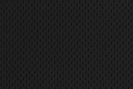 fabric texture: Black Mesh Sports Jersey texture