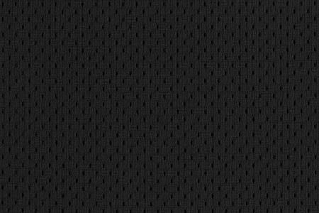 Negro de malla Deportes Jersey textura