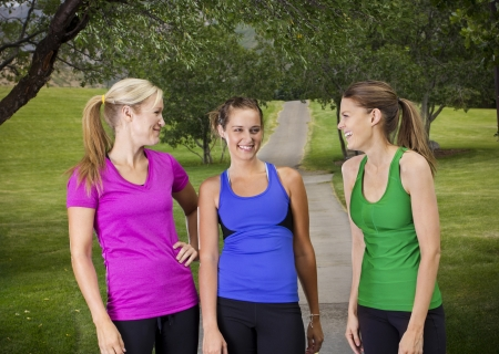 Happy Healthy Fitness Women Stock Photo - 15450433