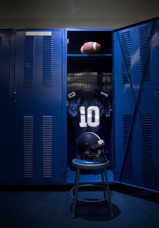 locker room: Football Locker