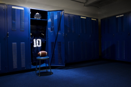 Football Locker Room Stock Photo - 15797209