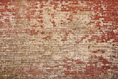 소박한 오래된 벽돌 벽 텍스쳐