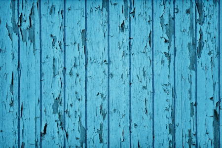 Vintage Style Wood Teal Blue color Stock Photo - 19313499
