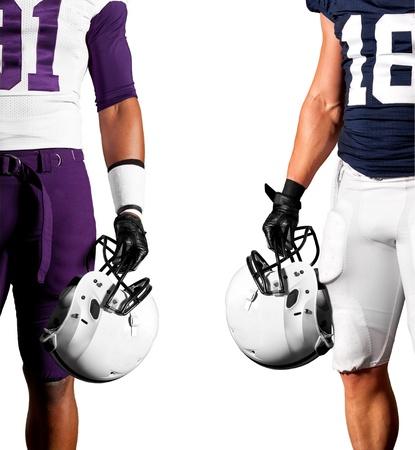uniforme de futbol: Los jugadores de fútbol americano