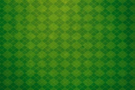 patrick: Green Argyle Textured Background