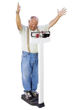 heavy weight: Senior Male losing weight Getting Healthy
