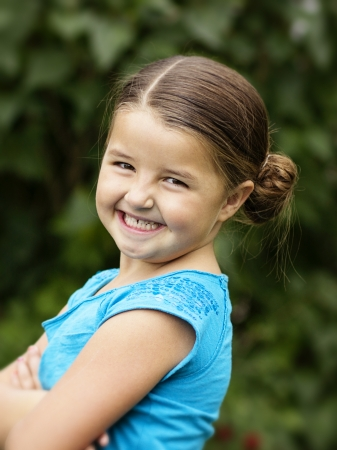 Cute, smiling Little Girl Portrait