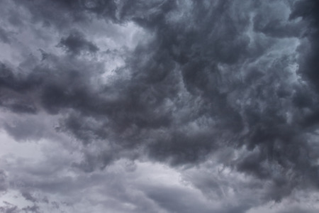 Dark Ominous Storm Clouds background