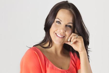 morena: Madura hermosa Mujer Latina