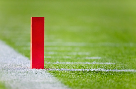 Football Touchdown Pylon photo