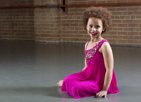 Beautiful Young Dancer portrait diversity photo
