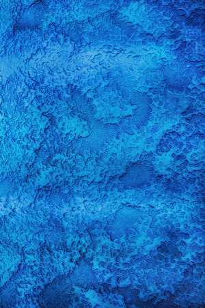 crystallized: Unique Bright Blue Grunge texture background Stock Photo