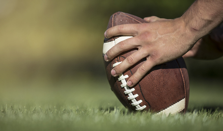 Hiking the football in a football game