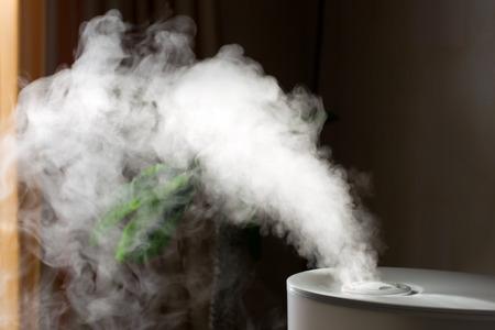 Luftbefeuchter Verbreitung von Dampf in die Wohnzimmer Standard-Bild - 29165062