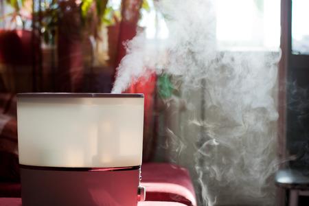Luftbefeuchter Verbreitung von Dampf in die Wohnzimmer Standard-Bild - 29165182