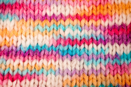 mohair: Colorful melange knitted background