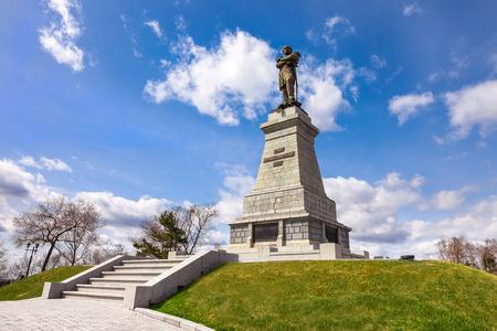 Monument to Muravyov-Amursky the founder of Khabarovsk