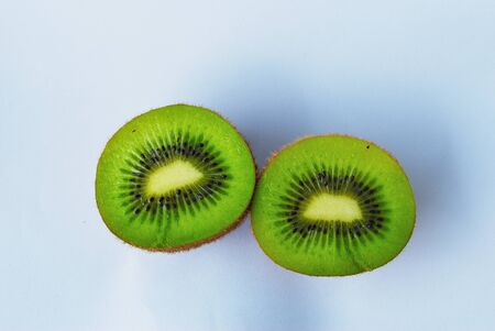 Kiwi fruit isolate on white background