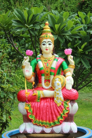 Lakshmi - Hindu goddess Stock Photo - 15000760
