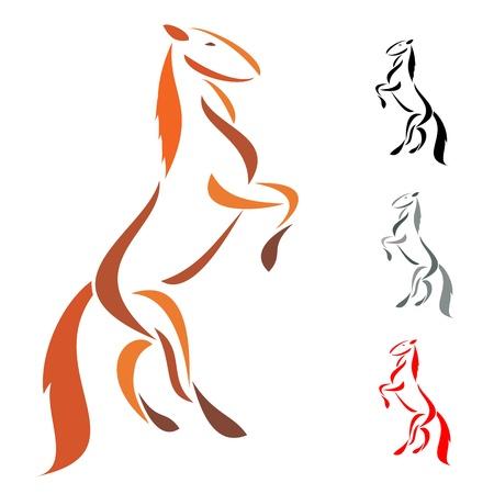 Horse Stock Vector - 16056634