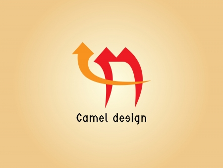 Images design of camel logo - Illustrations Vector