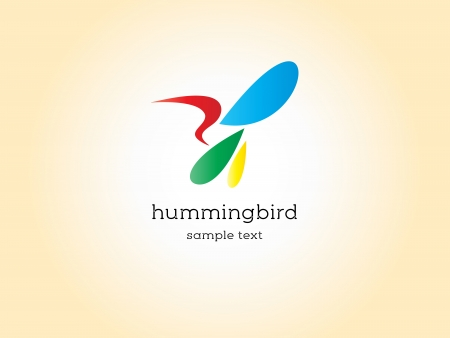 Images design hummingbird - Illustrations Vector