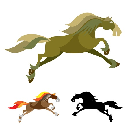 Images of Horse Mascot Logo Vector