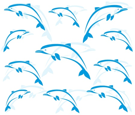 dolphin silhouette: Wallpaper images of dolphins