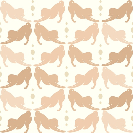 Wallpaper images of dog  - vector, Illustrations Stock Vector - 18851594